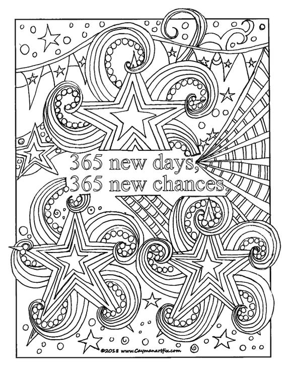 adult coloring pages inspirational quotes | Inspirational quote coloring page motivational adult | Etsy
