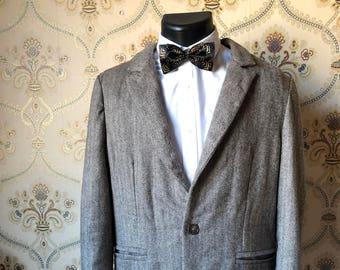 Personnalisé - Veste de costume semi sur mesure personnalisable en cachemire