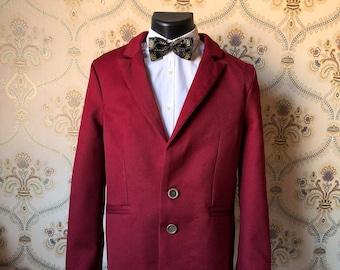 Personnalisé - Veste de costume semi sur mesure personnalisable en laine