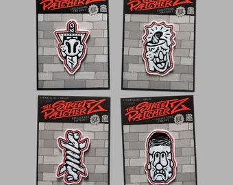 The Street Patcherz No1 - Lénarcisses X Dalas tattoo limited edition