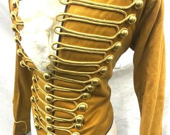 Steampunk militaire ceremoniële vrouwen Hussar jas in | Etsy