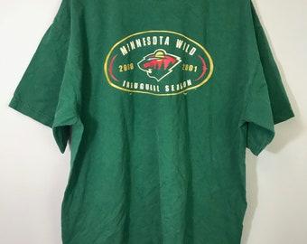 lowest price 9cd9f 7c654 Minnesota wild shirt | Etsy