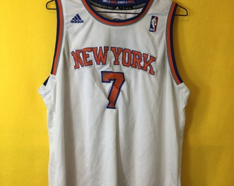e7222d56a Vintage 90 s Retro New York knicks Carmelo Anthony Adidas jersey