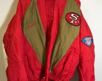 sports shoes 4c3de c5975 49ers jacket | Etsy
