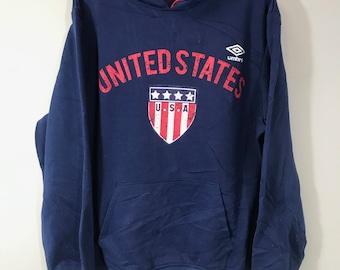 e7f7045358d63 Vintage 90 s Retro Umbro United States sweater
