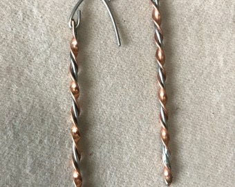 Copper & Stainless swirl