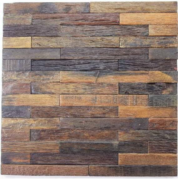 Exceptionnel Ancient Boat Wood Mosaic Tile Rustic Wood Wall Tiles NWMT010 Kitchen  Backsplash Wood Panel Interlocking Wood Pattern Tiles Mosaics