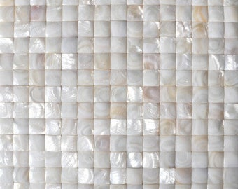 3D Mother of pearl Natural Seashell Mosaic MOP023 Groutless Mother of pearl shell wall tile kitchen backsplash tiles bathroom