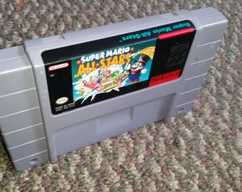 Super Mario All Stars Game for Super Nintendo SNES