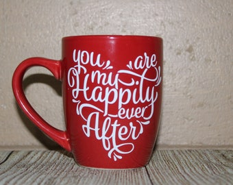 happy ever after coffee cup