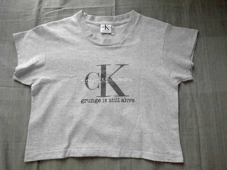 04211afaa GISA on 90's vintage CK Calvin Klein Jeans tee T-shirt | Etsy