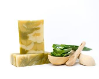 Aloe Vera Soap All Natural Cold Process Soap