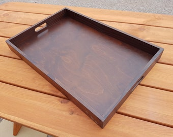 wooden serving tray etsy