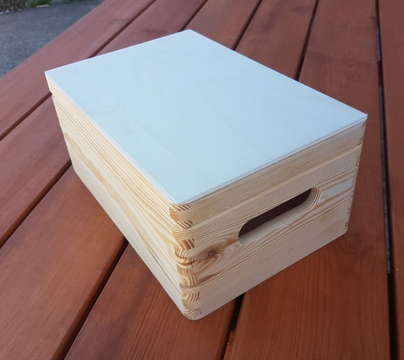 Wooden Box Wooden Chest Trinket Box Box For Toys Box For Etsy Awesome Wooden Box To Decorate