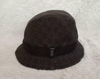 c8001471 GUCCI Monogram Design Hat Made In Italy