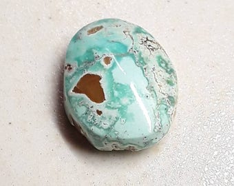 Dry Creek Turquoise Cabochon 28.9 ct
