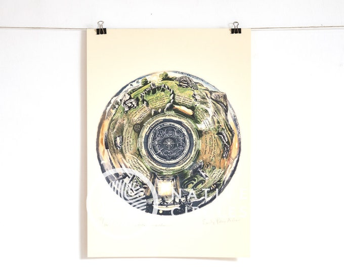 Sacred Sites of Ireland -Limited Edition Print on Paper