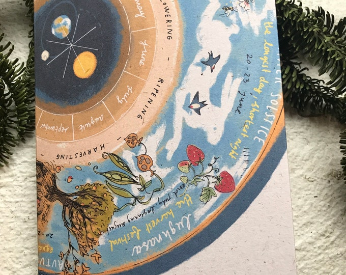Wheel of the Year planner