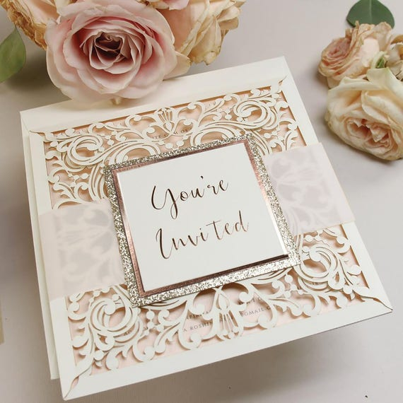 Diy kit laser cut wedding invitations do it yourself solutioingenieria Gallery