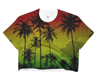 Reggae palm tree   Etsy