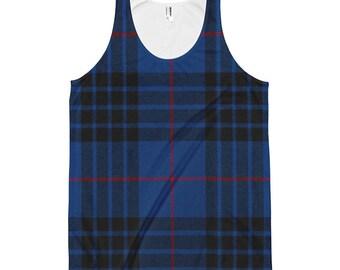 Jahrgang Grunge Sears & Roebuck Herrenmode karierten Shirt