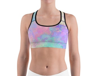 147d600e510c3 Pastel Goth Bralette Sports Bra Rainbow Shirt Fairy Kei Unicorn Shirt  Roller Derby Tie Dye Shirt Kawaii Shirt Harajuku Aesthetic Soft Grunge