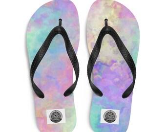 4a1aff0c62b8c Pastel flip flops | Etsy