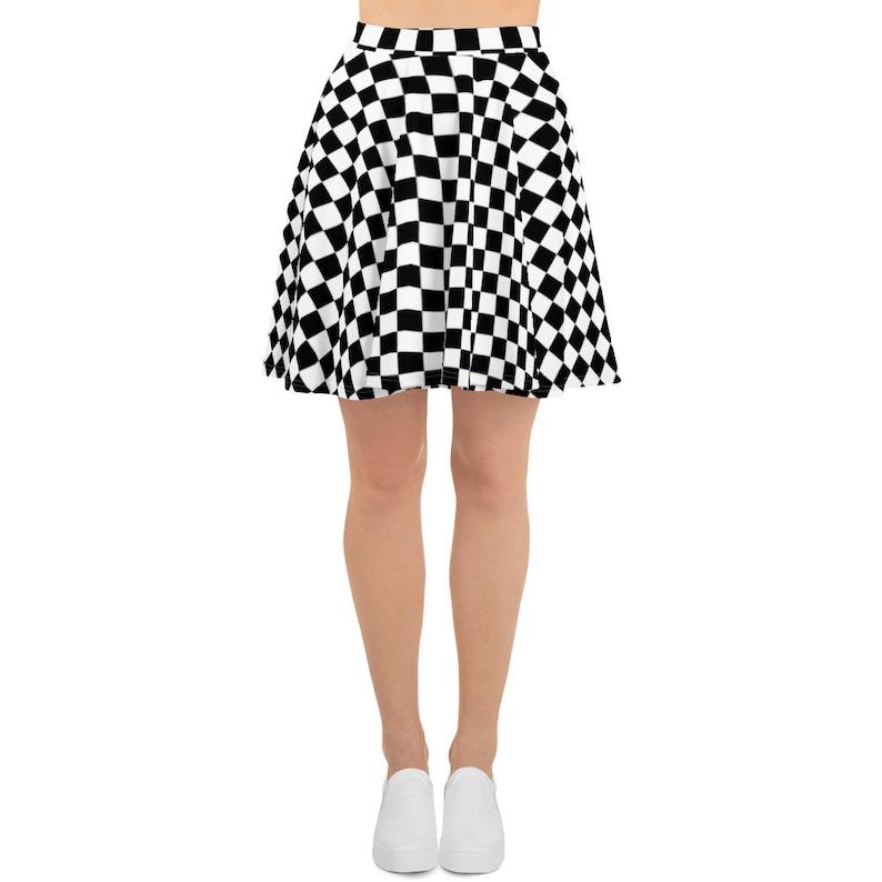 f37cef1159842 Ska Skateboard Skater Skirt Skater Dress Circle Skirt Vans
