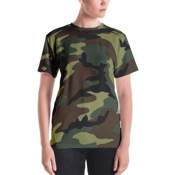 womens camo shirt