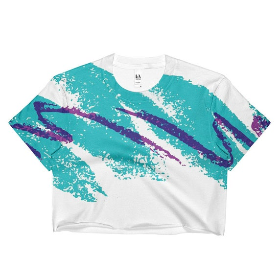 Vaporwave Jazz Solo Paper Cup Crop Top Aesthetic Clothing Street Wear  Kawaii Shirt Rave Wear Rave Outfit Harajuku Shirt Kawaii Clothing