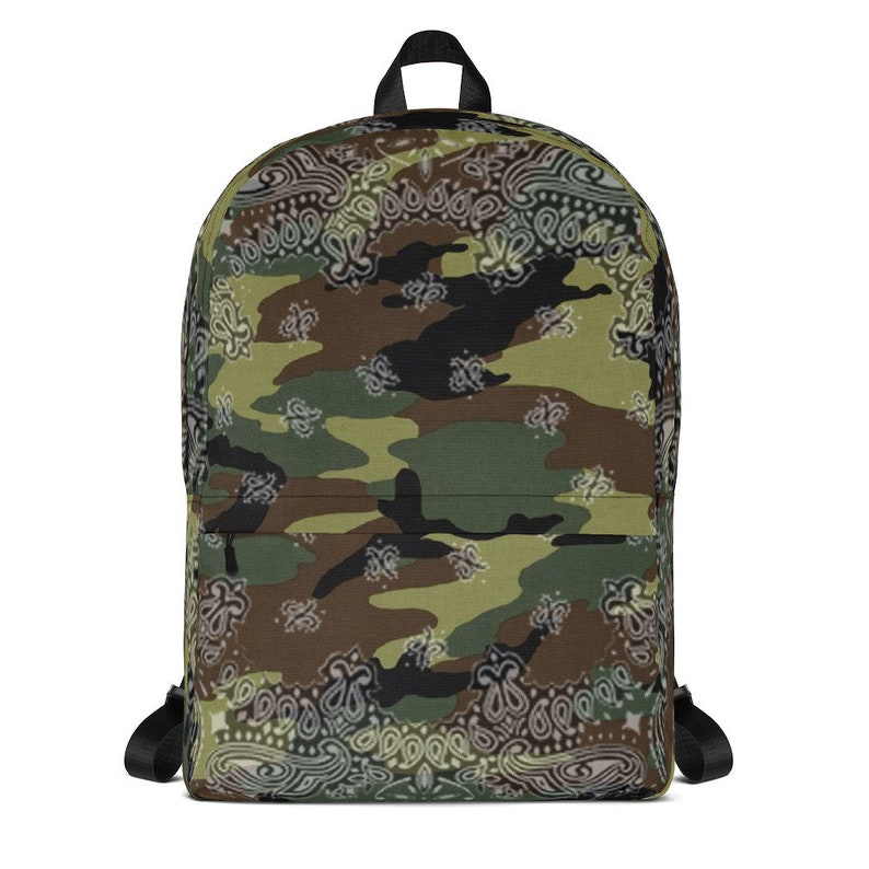 0f4d575862 90s Hip Hop Clothing Army Camo Laptop Backpack Women