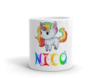 Nico Unicorn Mug