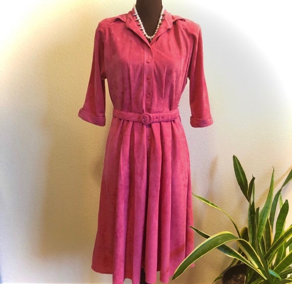 Vintage Petites by Willi Button Up Dress