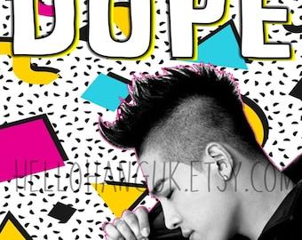 Taeyang Birthday Card Sol Youngbae Bigbang Kpop Korea Dope