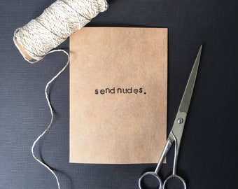 Send nudes card