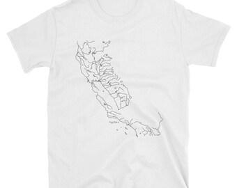 California Waterways Shirt