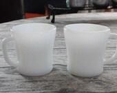 Vintage Federal Milk Glas...