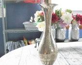 Vintage Etched Silver Pla...
