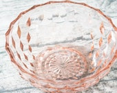 Vintage Pink Glass Candy ...