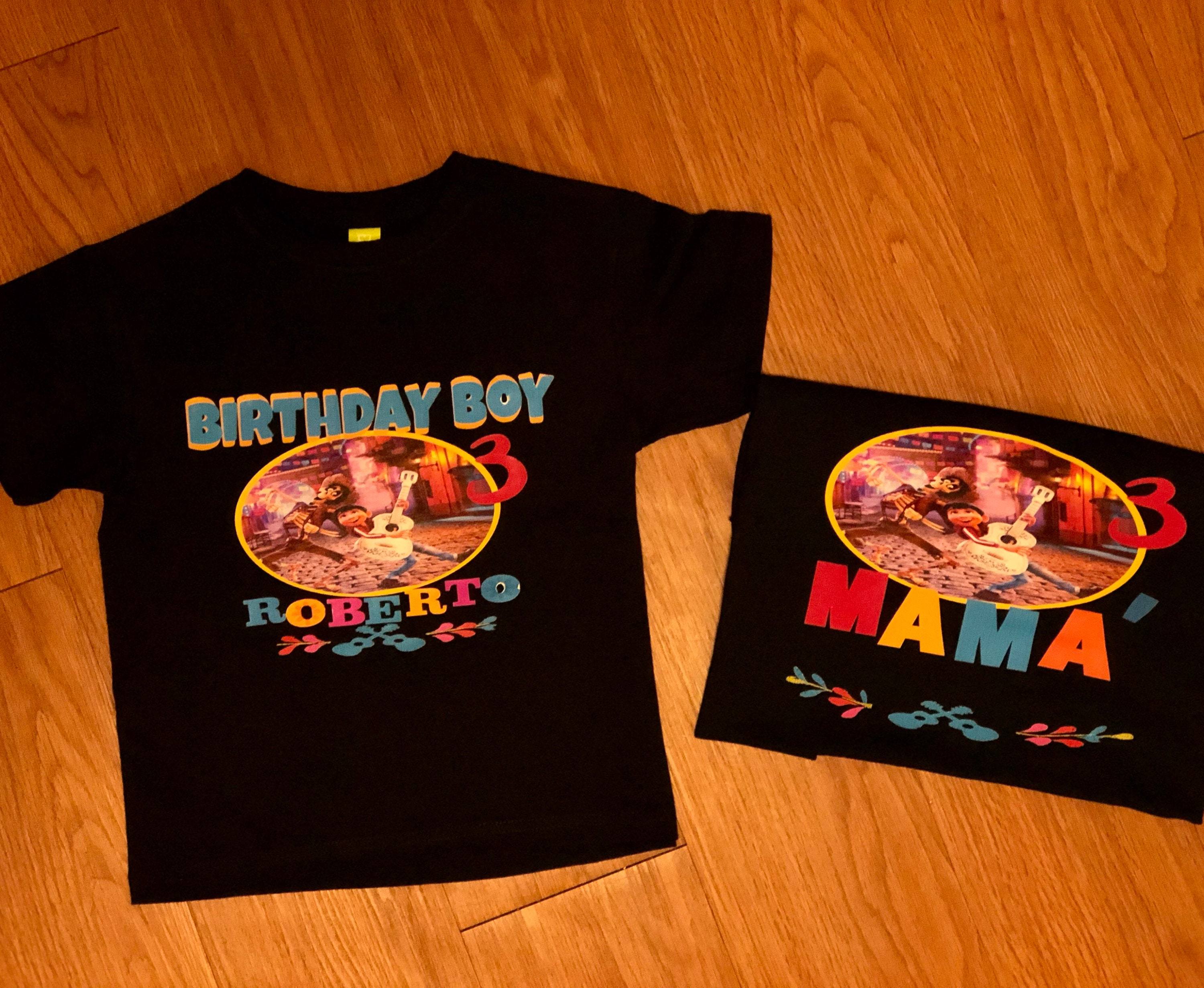 Coco Birthday T Shirt Coco Custom Shirt Personalized Coco Etsy