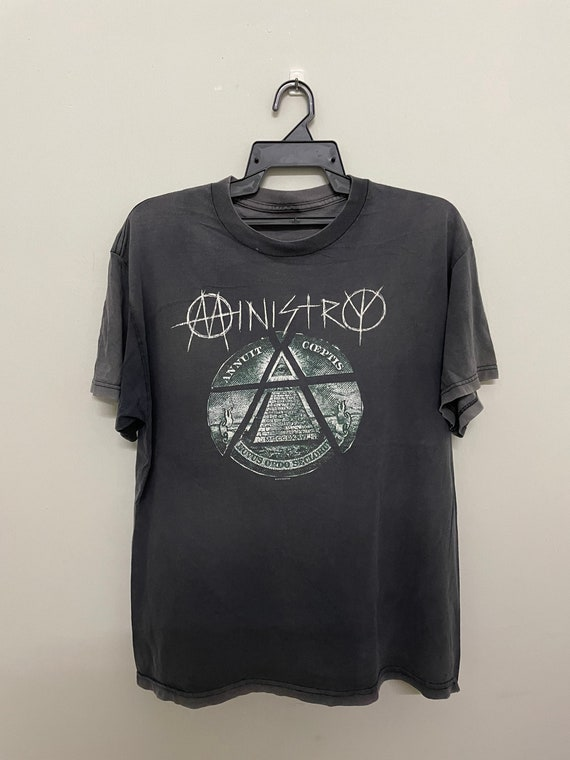 Vintage Ministry Sun Faded Worn Shirt