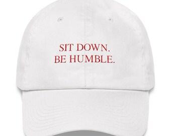 1da4afd21bb Sit Down Be Humble Kendrick Lamar Dad hat
