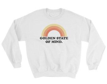 200a8350aee Golden State Of Mind Sweatshirt   Tumblr Sweatshirt, Brandy Melville,  California Sweatshirt