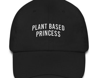 Plant Based Princess Dad hat  ff85060d5a78