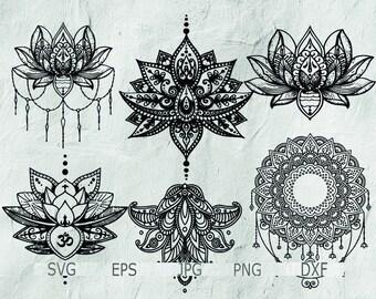 Mandala Clip Art Etsy