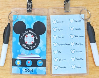 9cd0c6de0ff1 Disney Fantasy Bar Crawl Passport Printable Disney Cruise | Etsy