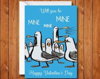 39f2721124954 Finding Nemo Mine Mine Mine Valentine s Day Card