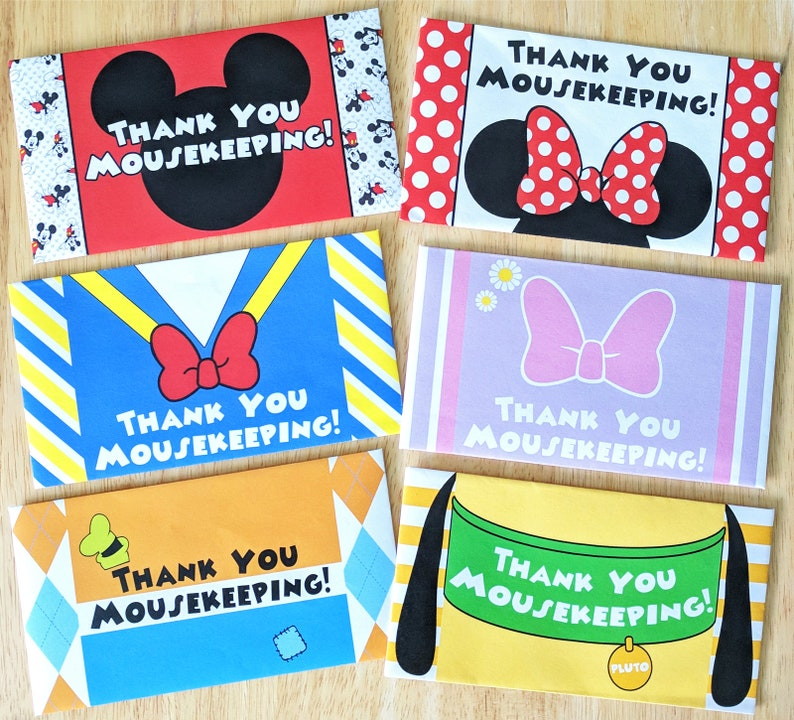 photograph regarding Disney Printable Envelopes identify Mousekeeping Envelopes, Disney Idea Envelopes - Do it yourself Printable Sets of Clic People (Mickey, Minnie, Donald, Daisy, Goofy, Pluto)