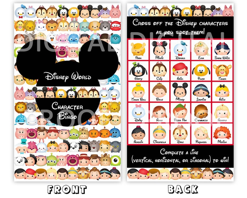 picture regarding Disney Bingo Printable referred to as Disney Individuality Bingo Playing cards, Printable Walt Disney Worldwide Bingo, Disney Bingo, Disney International Children Recreation - Fast Electronic Obtain