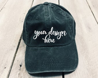 Custom W hat